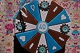 4 Tolle Torte Geldgeschenkverpackung aus Papier zum 18. Geburtstag , Geld verschenken, Geschenkverpackung