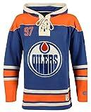 Old Time Herren-Trikot Hockey NHL Spieler Name und Nummer Hoodie, Herren, NHL Men Player Lacer Name-No Hoodie, McDavid, Large