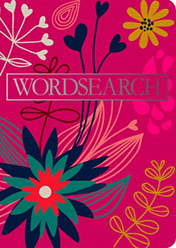 Floral Notebook Wordsearch