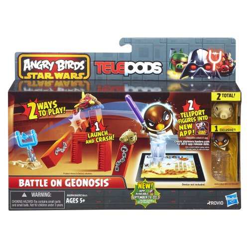 Angry Birds Star Wars Telepods Battle on Geonosis Playset