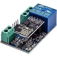 juqilu ESP8266 WiFi Relay, Módulo de relé WiFi Things Inicio Inteligente Interruptor de Control Remoto