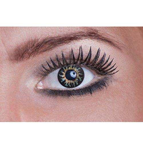 Eyecatcher Natural Color Fun Tone - farbige Kontaktlinsen - light the Fire - 2 Stück (1 Paar) (Farbige Kontaktlinsen Kosmetische)