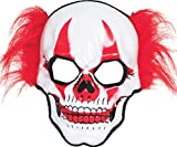 Erwachsene Halloween Kleid Party Kostüm Zirkus Joker Horror Clown Totenkopf Maske