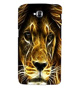 LG G PRO LITE LION Back Cover by PRINTSWAG