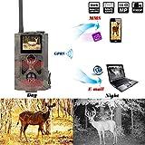 ZMM 16MP Infrarot-Jagdkamera Wald 3G Wildtier-Überwachung 3G GPRS Wildkamera GPRS SMS Foto-Fahn-Trail