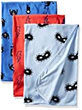 Rosie Pope Baby Blankets 3 Pack, Blue, OS1