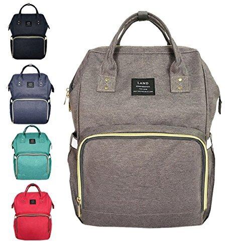 Land Windeltasche Wasserdicht Reiserucksack mit Multifunktionalität für Babypflege (Clearance Designer-handtaschen)