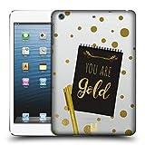 Head Case Designs Gold Noten An Sich Ruckseite Hülle für iPad Mini 1 / Mini 2 / Mini 3