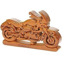Moto puzzle 3D in legno: il divertimento di Natale della novità e regalo di compleanno: Idea regalo Rompicapo: Puzzle: Ornamento: Regali del motociclo per i bambini, uomini, adulti, Bikers: Dimensioni 21 x
