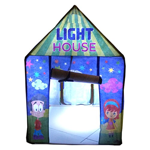 the latest ea8fa ee07a Muren Fluorescent LED Light Tent House for Kids
