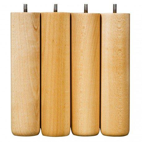 COREME Patas Natural H. 25cm, Le Lot de 4, 6
