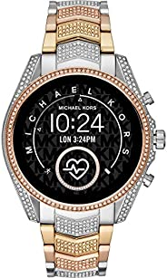 Michael Kors Access Gen 5 Bradshaw Smartwatch- Powered with Wear OS by Google with Speaker, Heart Rate, GPS, N