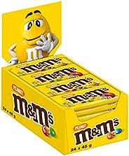 M&M's Confetti Al Cioccolato Contenenti Arachidi, 24 Pezz