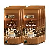 Tchibo Barista Caffè Crema ganze Bohne, 8 kg (8 x 1 kg)