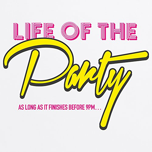 Life of the Party T-Shirt, Herren Wei