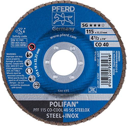 50/x Fibre Disques papier abrasif feuilles abrasives 115/mm Grain = 80/pour meuleuse dangle