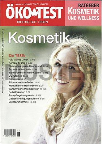 Öko Test Sonderheft N1606- Ratgeber Kosmetik und Wellness 2016 - Die TESTs: Anti-Aging-Linien...