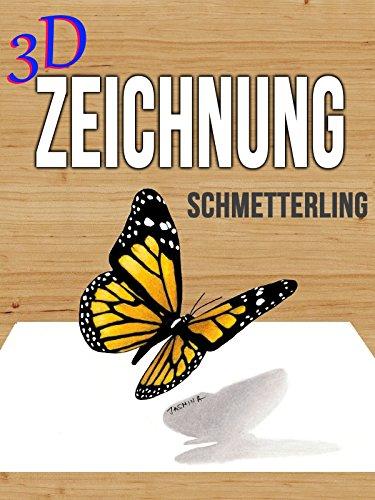 Clip: 3D Zeichnung Schmetterling