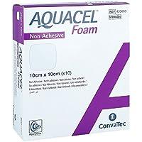 Aquacel Foam nicht adhäsiv 10x10 cm Verband 10 stk preisvergleich bei billige-tabletten.eu