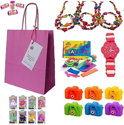 luxury-pre-filled-pink-paper-party-goody-loot-bag-filled-with-beautiful-wooden-toys-and-treats