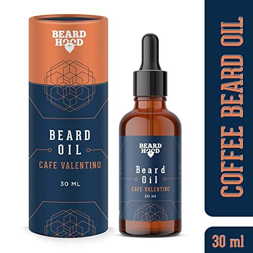 Beardhood Beard Growth Oil For Men - Café Valentino, 30ml