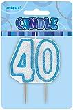 Die besten UNIQUE Kerzen - Unique Party Supplies Kerze - Zahl 40 in Bewertungen