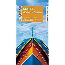 GO VISTA: Reiseführer Malta: Gozo, Comino - Mit Faltkarte und 3 Postkarten