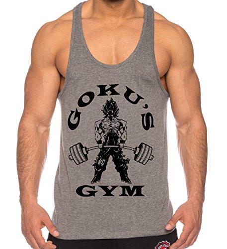 gym aesthetics. Goku Golds de los Hombres Camisa del músculo One Goku  Dragon Master Son Ball Vegeta Turtle 32c90e13ab1