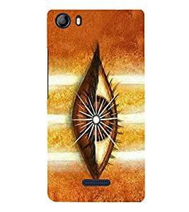 Vishveshwara Shiva 3rd Eye 3D Hard Polycarbonate Designer Back Case Cover for Micromax Canvas 5 E481