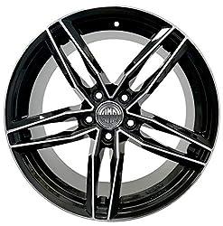 F337 BD 1 Pcs RS6 7.5J 17 5X112 ET37 66.5 Alloy Wheel Rim for Audi A3 8V A4 Avant B8 A6 4F 4g A5 A7 Volkswagen Passat Italy