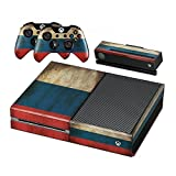 Stillshine Xbox ONE Design Folie Aufkleber für Konsole + 2 Controller + Kamera Sticker Skin Set (Flags Russia)