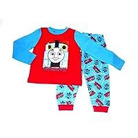 Boys Pyjamas Thomas The Tank Engine Red & Blue