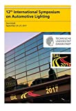12th International Symposium on Automotive Lighting – ISAL 2017 – Proceedings of the Conference: Volume 17 (Darmstädter Lichttechnik)