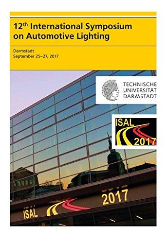 12th International Symposium on Automotive Lightning - ISAL 2017 - Proceedings of the Conference, USB-Stick