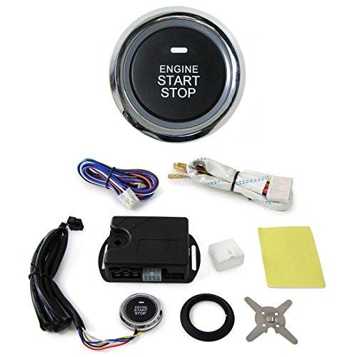 Carparts-Online 28011 Motor Start Stop Funktion mit Aufbau Schalter zum Nachrüsten Variante 1 -