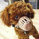 TOOGOO(R) Plastic Basket Adjustable Dog Muzzle Mask Cage Mouth Mesh (Size 5) 22