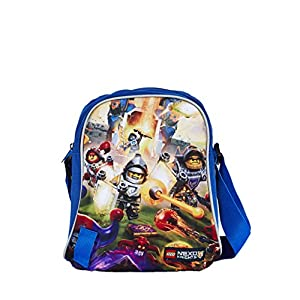 Lego Tablet Bag Vline Nexo Knights Borsa Messenger, 27 cm, 2 liters, Blu (Azul) 5711013035709 LEGO
