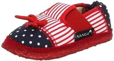 Nanga Mia 06/0073-20 Mädchen Hausschuhe, Rot (Rot 20), EU 28