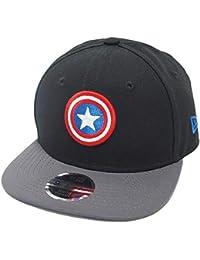 New Era Captain America 9fifty 950 Black Reflectiv Youth Snapback Cap Kids  Kinder Children Limited Edition c6493a61af38
