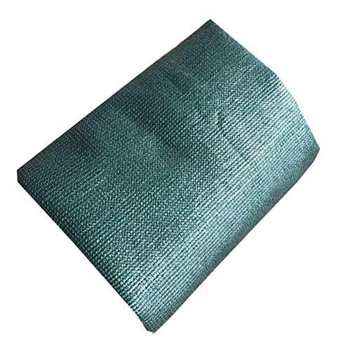 Robuste Zeltplane Regenschutztuch wasserdicht Sonnenschutznetz Außenwärmedämmung Belüftung Carport Verschlüsselung Blumenschutz Sonnenschutz Metallloch Polyethylen ( Color : Grün , Größe : 3x8m )