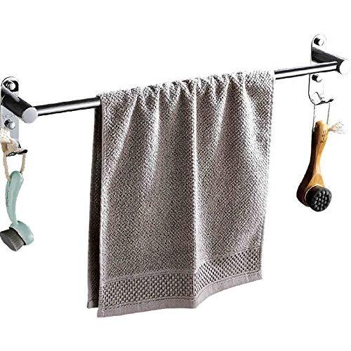 Gjrff Punch-Free 304 Edelstahl Single-Bar Handtuch Hängen Bad Handtuchhalter Bad Handtuchhalter Haken WC (Size : 30cm) (Eingerieben 30 öl Handtuchhalter Bronze)