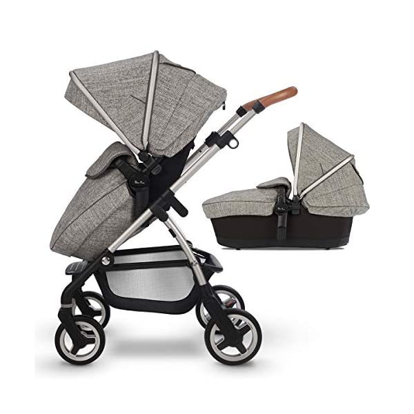 Silver Cross Wayfarer Camden Silver Cross Complete pram system that includes everything you need from birth to toddler Includes a lie-flat carrycot for your new born that is suitable for overnight sleeping Compact, lightweight and convenient, hardwearing and durable 1