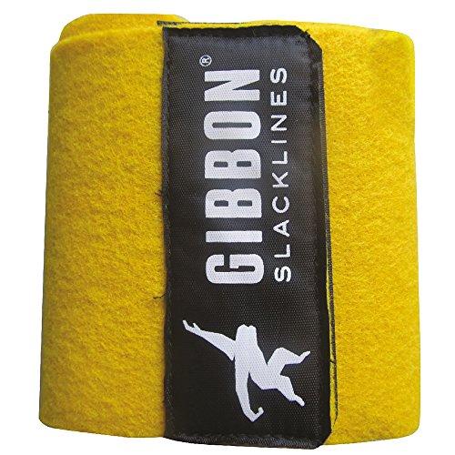Gibbon Slacklines Set Fun Line 15 m lang, 5 cm breit + Baumschutz - 3
