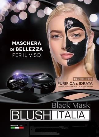 Blush Italie 10 x Black Mask 100 ml Free Paraben et conservateur