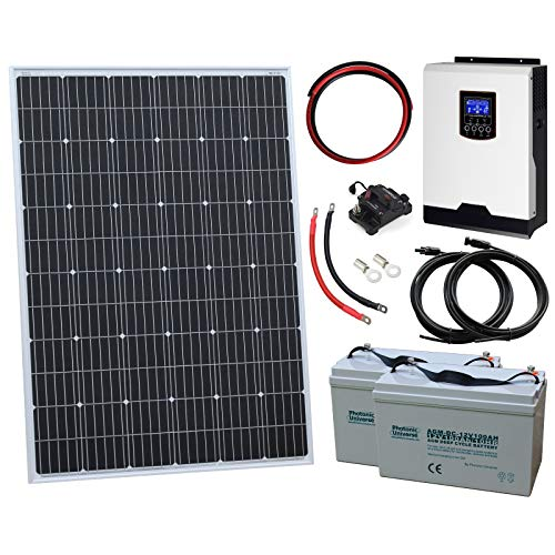 Photonic Universe klein netzferne Haushalt Solar Power System für Wohnmobil, Wohnwagen, Wohnmobil, RV, Boot oder Yacht, oder netzferne/Backup Solar Power System Rv-power-systeme