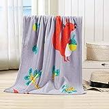 Mitlfuny-> Haus & Garten -> Wohnkultur,Super Soft Warm Solid Warm Micro Plüsch Fleece Decke Wurfdecke Sofa Bettwäsche