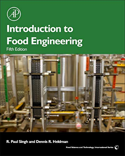 Introduction to Food Engineering (Food Science and Technology) por R Paul Singh Professor
