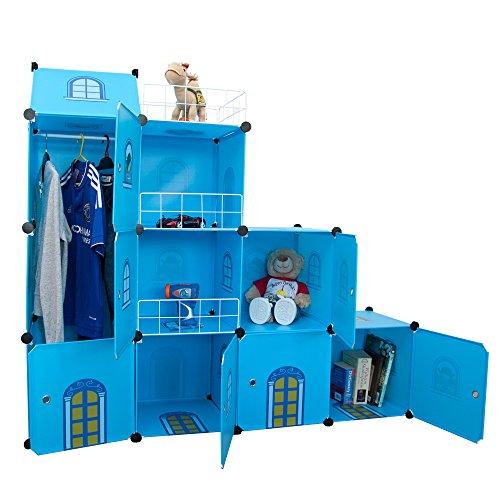 Niños castillo armario