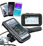 Navitech Wasserfeste Fahrrad und Motorrad Halterung Montierung und Case für das iPhone 6 Plus / 6S Plus 5.5