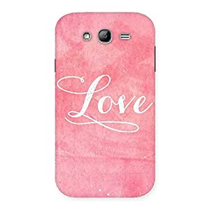 NEO WORLD Remarkable Paper Love Back Case Cover for Galaxy Grand Neo Plus